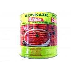 Gepelde  tomaten (konkase) 2,5kg